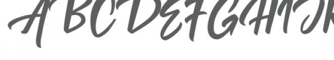 Rendang Font UPPERCASE