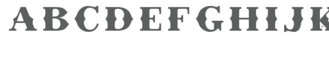 Retro Chalet Regular Font UPPERCASE