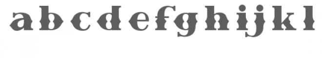 Retro Chalet Regular Font LOWERCASE