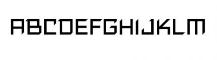 ResistanceIs Futile Font LOWERCASE