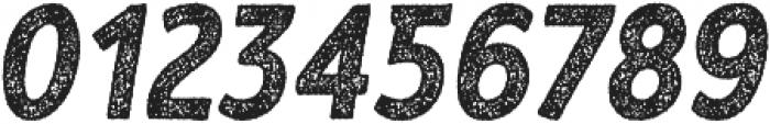 RF Barbariska rough 2 Oblique ttf (400) Font OTHER CHARS
