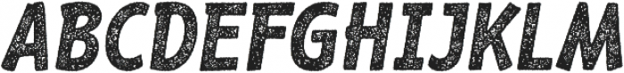 RF Barbariska rough 2 Oblique ttf (400) Font UPPERCASE