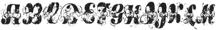 RF BitOHoney ttf (400) Font UPPERCASE