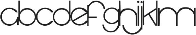 RF Decor ttf (400) Font LOWERCASE