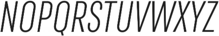 RF Rufo Light Italic ttf (300) Font UPPERCASE