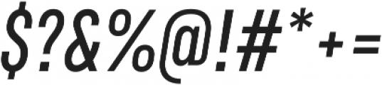 RF Rufo Semibold Italic ttf (600) Font OTHER CHARS