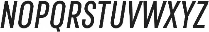 RF Rufo Semibold Italic ttf (600) Font UPPERCASE