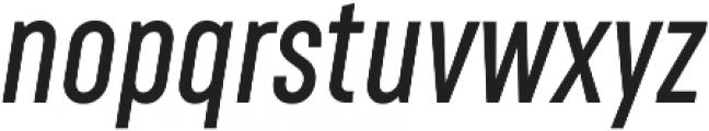 RF Rufo Semibold Italic ttf (600) Font LOWERCASE