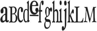 RF SackOPotatoes ttf (400) Font LOWERCASE
