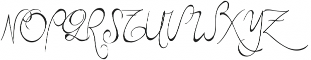 RF Sketchbook ttf (400) Font UPPERCASE