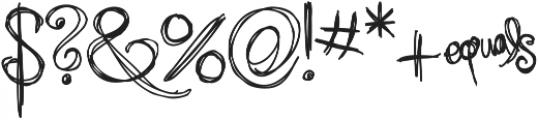 RF Sol Man ttf (400) Font OTHER CHARS