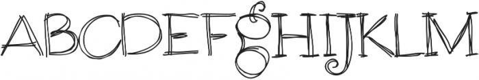 RF Sol Man ttf (400) Font UPPERCASE