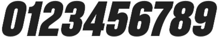 RF Takt Black Italic otf (900) Font OTHER CHARS
