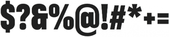 RF Takt Black otf (900) Font OTHER CHARS