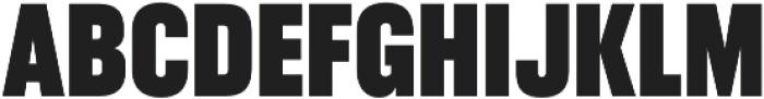 RF Takt Black otf (900) Font UPPERCASE