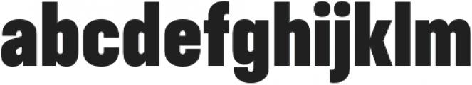 RF Takt Black otf (900) Font LOWERCASE