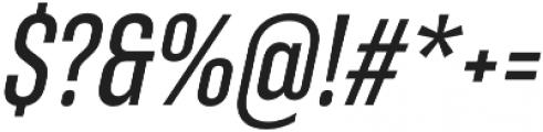 RF Takt Semibold Italic otf (600) Font OTHER CHARS