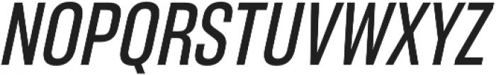 RF Takt Semibold Italic otf (600) Font UPPERCASE