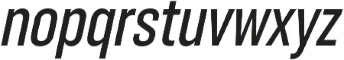RF Takt Semibold Italic otf (600) Font LOWERCASE