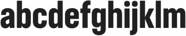 RF Takt Ultrabold otf (700) Font LOWERCASE