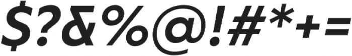 RF Tone otf (700) Font OTHER CHARS