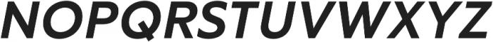 RF Tone otf (700) Font UPPERCASE