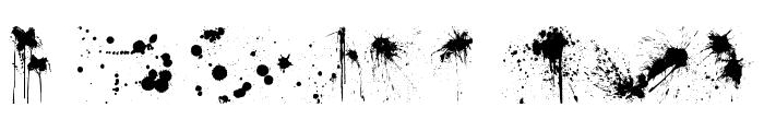 RFX Splatz Font UPPERCASE
