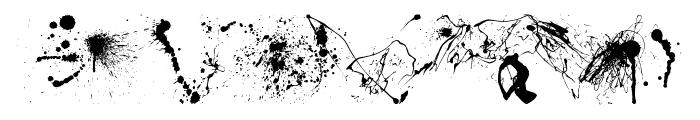 RFX Splatz Font LOWERCASE