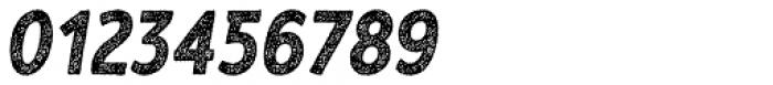RF Barbariska Rough 2 Oblique Italic Font OTHER CHARS