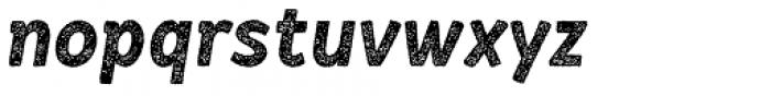RF Barbariska Rough 2 Oblique Italic Font LOWERCASE