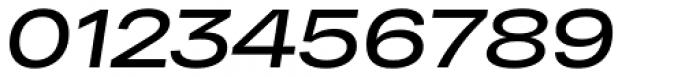 RF Dewi Expanded Semibold Italic Font OTHER CHARS