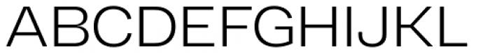 RF Dewi Extended Light Font UPPERCASE