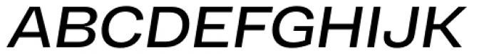 RF Dewi Extended Semibold Italic Font UPPERCASE