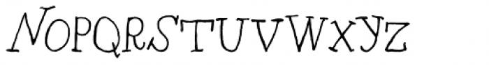 RF Marshall Regular Font UPPERCASE