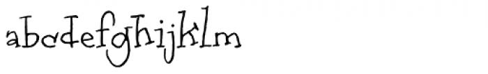 RF Marshall Regular Font LOWERCASE