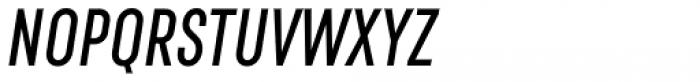 RF Rufo SemiBold Italic Font UPPERCASE