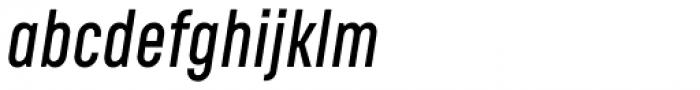 RF Rufo SemiBold Italic Font LOWERCASE