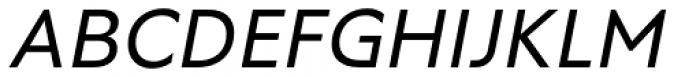 RF Tone Italic Font UPPERCASE