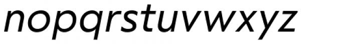 RF Tone Italic Font LOWERCASE