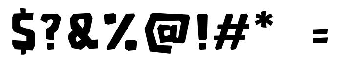 RG JINGLEWOOD Regular Font OTHER CHARS