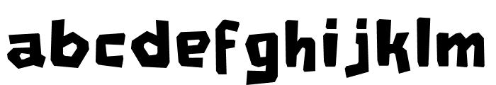 RG JINGLEWOOD Regular Font LOWERCASE