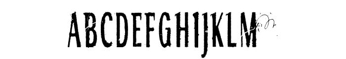 RGMB 6044 Str Font UPPERCASE