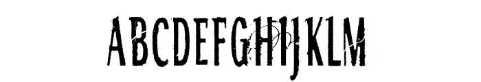 RGMB 6044 Str Font LOWERCASE