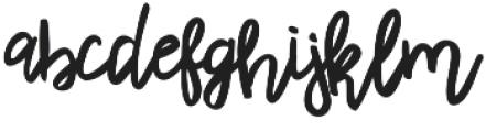 Rhiner Regular otf (400) Font LOWERCASE