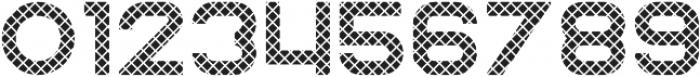 Rhino Striped otf (400) Font OTHER CHARS