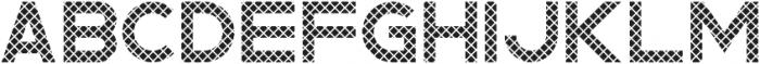 Rhino Striped otf (400) Font UPPERCASE