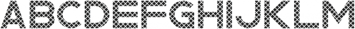 Rhino Striped otf (400) Font LOWERCASE