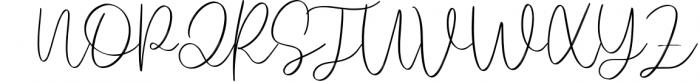 Rhosetta Script 1 Font UPPERCASE
