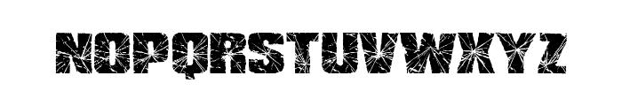RH SHMATTER SOLID SMASH Font UPPERCASE
