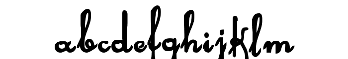 Rhalina Bold Font LOWERCASE